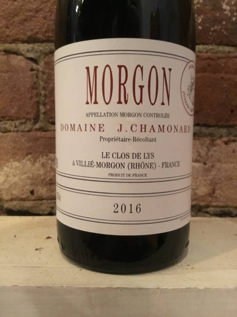 2016 Chamonard Morgon Le Clos de Lys, 750ml