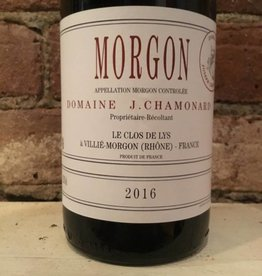2016 Chamonard Morgon Le Clos de Lys, 750ml