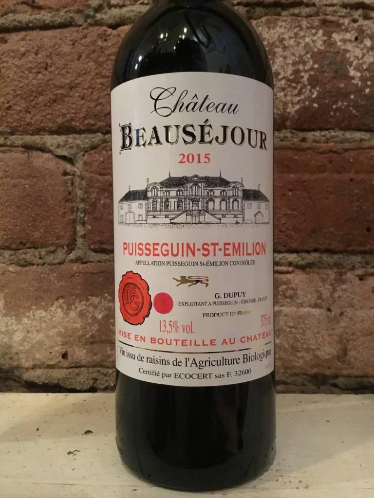 2015 Chateau Beausejour Puisseguin-Saint Emilion, 375ml
