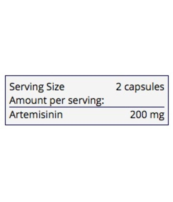 Allergy Research Group Artemisinin 100mg- 300 caps