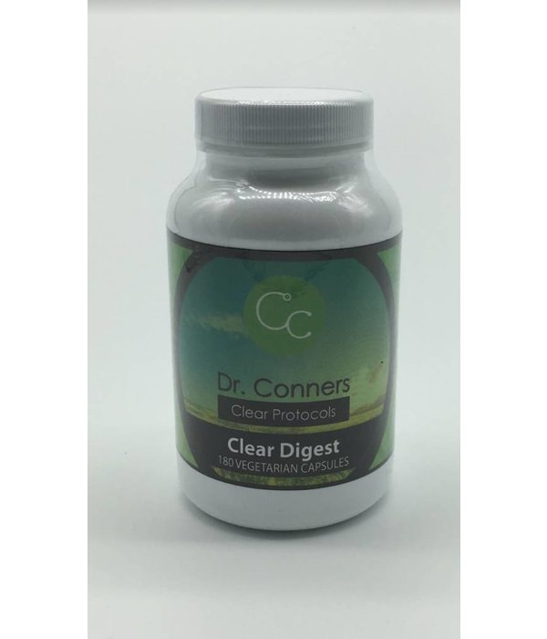 Conners Originals Clear Digest Enzymes -180 caps