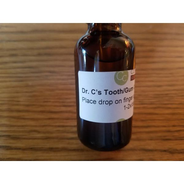 Tooth / Gum Oil - Dr. C's Miracle Oil