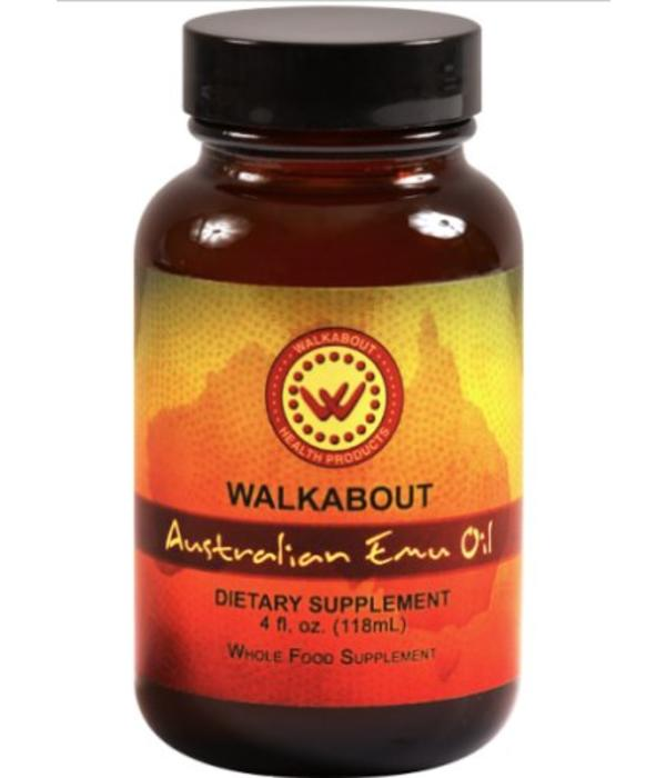 Walkabout Products Australian Emu Oil - 4 oz liquid