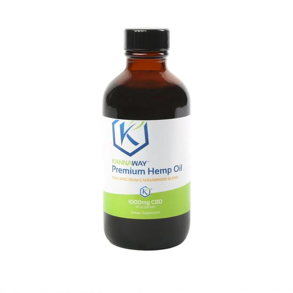 Premium CBD Oil - LIQUID 4 oz