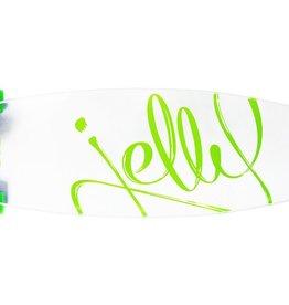 """Jelly Skateboards Jelly Man O' War 34"""" Longboard Lime"""