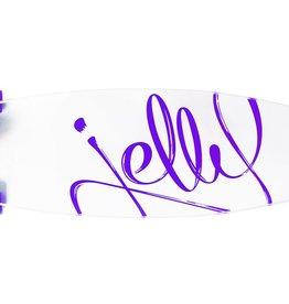 "Jelly Skateboards Jelly Man O' War 34"" Longboard Grape"