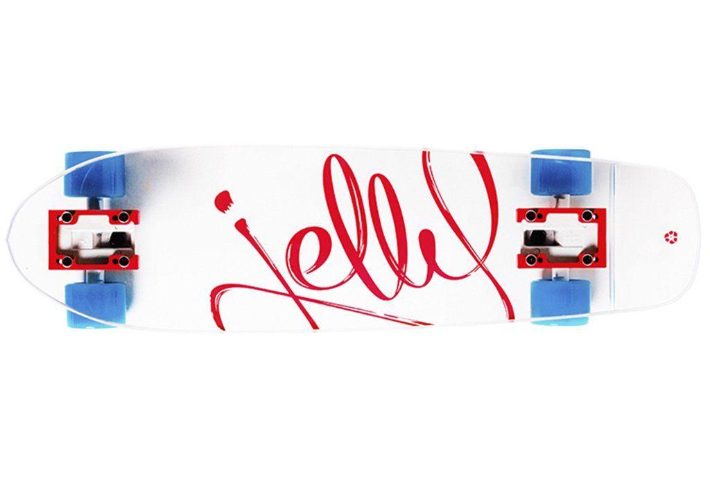 """Jelly Skateboards Jelly Kingslayer 26"""" Shortboard Burn"""