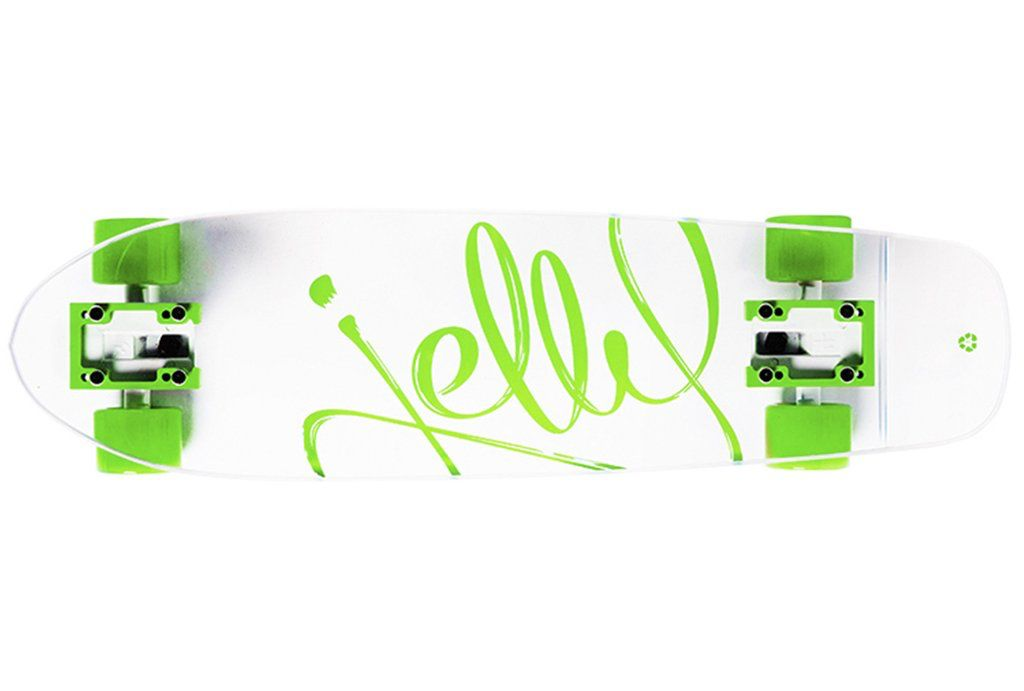 "Jelly Skateboards Jelly Kingslayer 26"" Shortboard Lime"