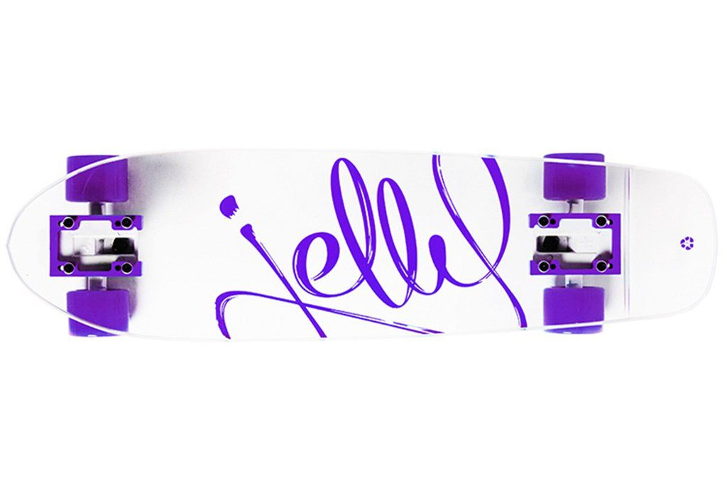"Jelly Skateboards Jelly Kingslayer 26"" Shortboard Grape"