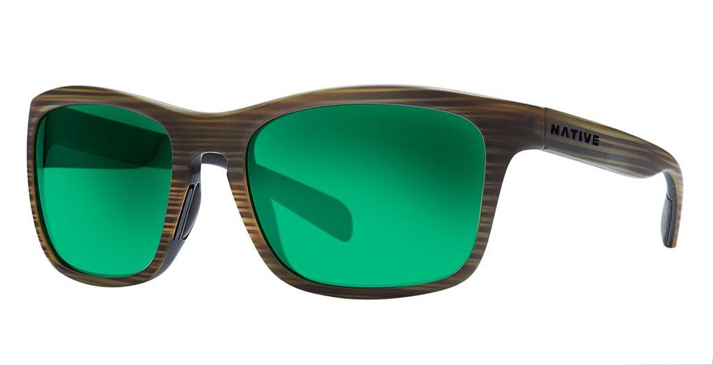 Native Eyewear Native Penrose Wood Green Reflex (Brown)