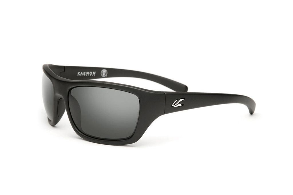 Kaenon Kanvas Matte Black Grey 12-Polarized