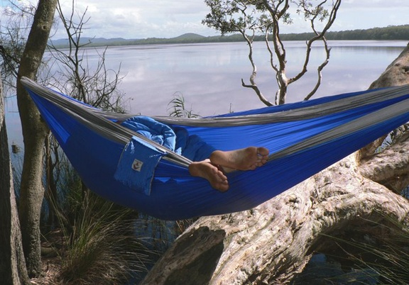 Hammock Bliss Hammock Bliss Triple Blue/Silver
