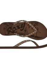 Roxy CHIA II J SANDAL CHOCOLATE CRACKLE