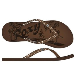 Roxy CHIA II J SANDAL CHOCOLATE CRACKLE
