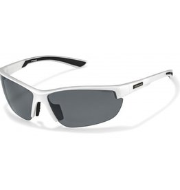 Polaroid POLAROID 7409C WHITE POLARIZED GREY/SILVER MIRROR