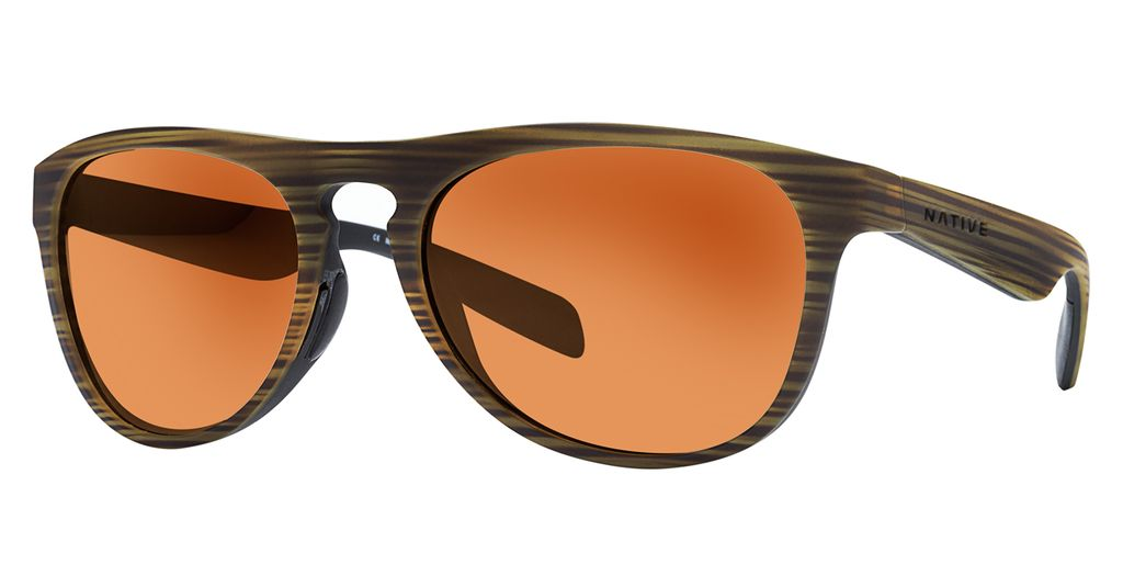 Native Eyewear Native Sanitas Wood Bronze Reflex (Brown)