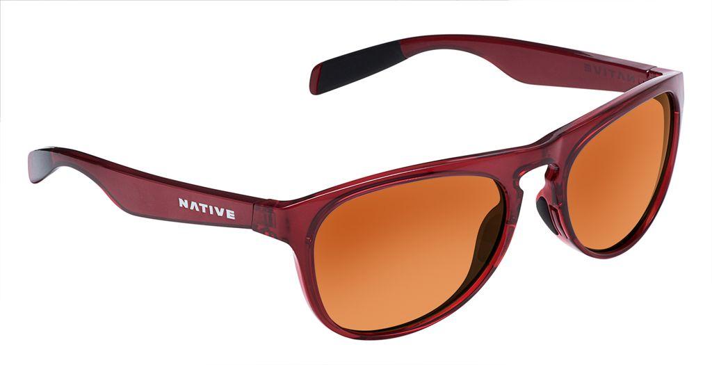 Native Eyewear Native Sanitas Crimson Brown