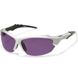 Polaroid POLAROID 7408B SILVER/BLACK POLARIZED PURPLE