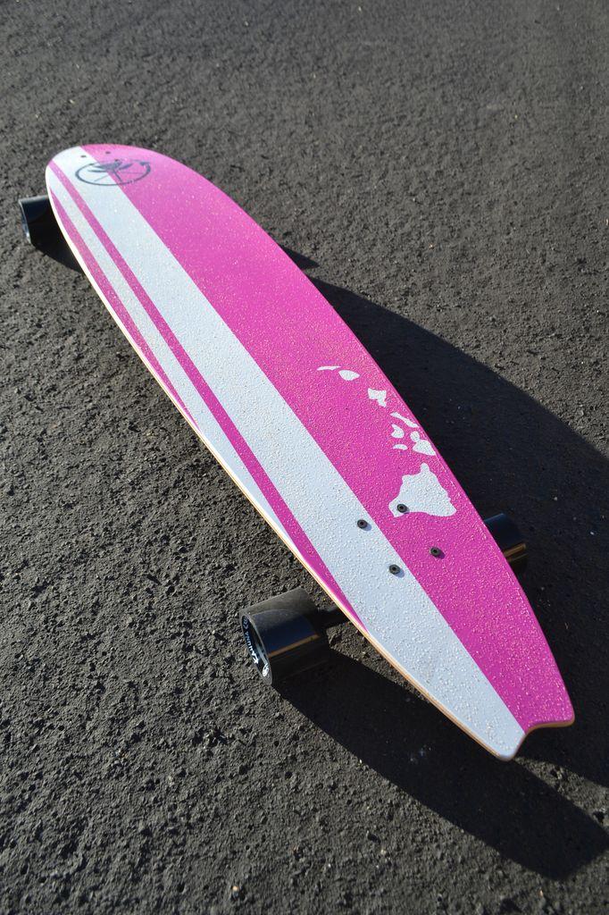 Kahuna Creations Kahuna Retro Pink 48-Inch Beach Longboard