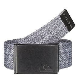 Quiksilver QUIKSILVER PRINCIPLE II WEBBING BELT LIGHT HEATHER GREY