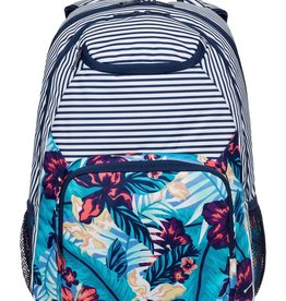 Roxy ROXY SHADOW SWELL BACKPACK NORFOLK DIAMOND TROPICAL BLUE