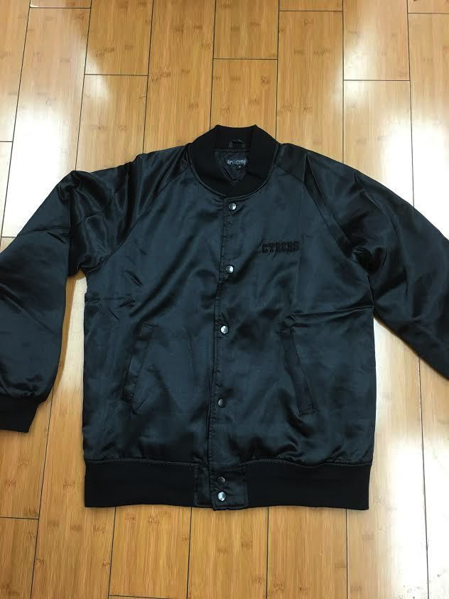 CyberGreen Black Flight Jacket
