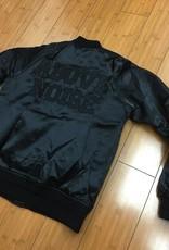CyberGreen Black Flight Jacket