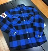 Warrior Flannel Blue