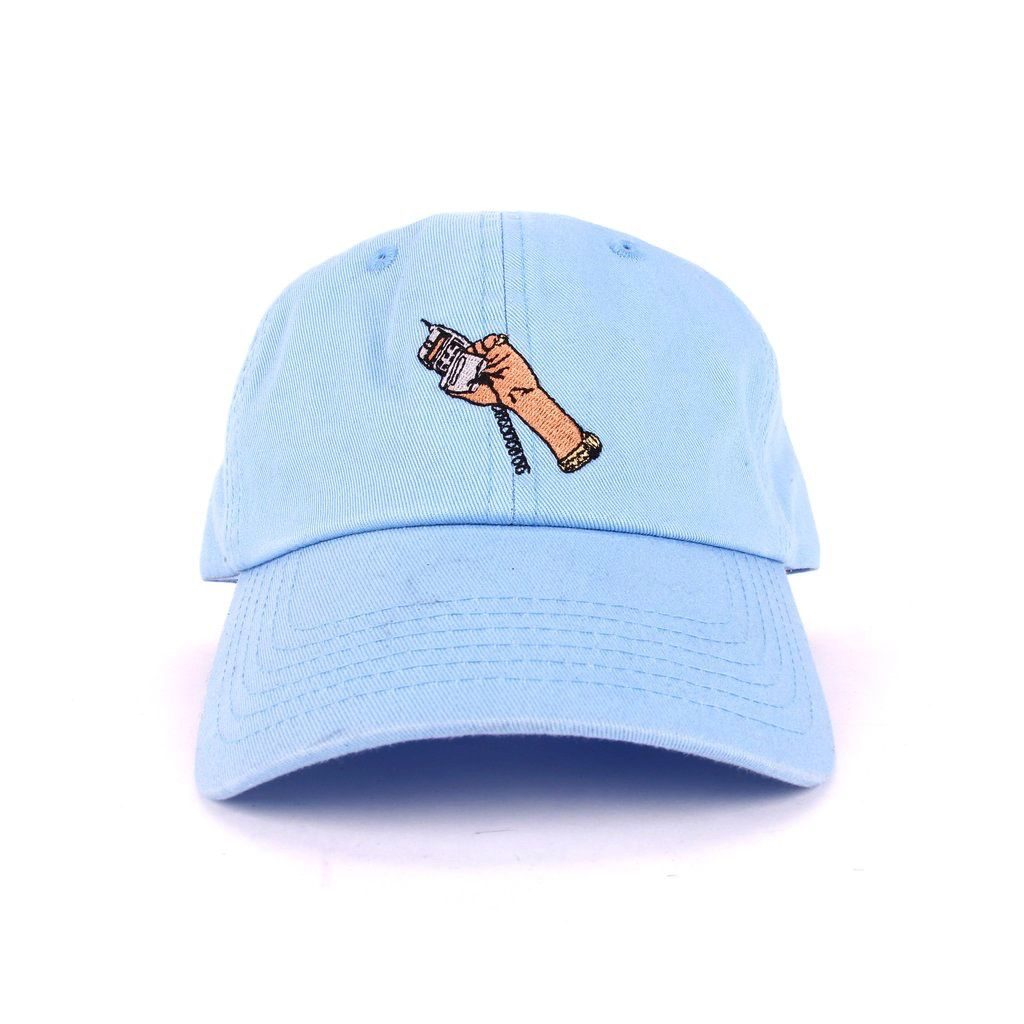 HSTRY CELL PHONE CAP BLUE