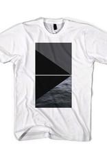 Black Scale Devils Triangle Tee White