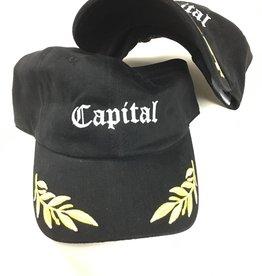 Capital Dad Cap Black