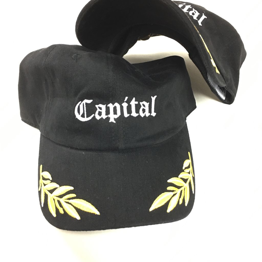 Capital Dad Cap Black