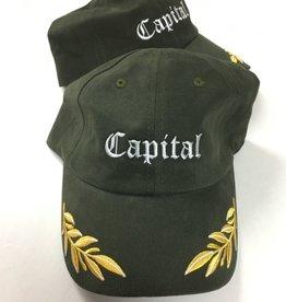 Capital Dad Cap Olive