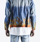 Embellish LA FLAME JACKET (BLUE)