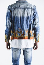 Embellish LA FLAME JACKET (BLUE)