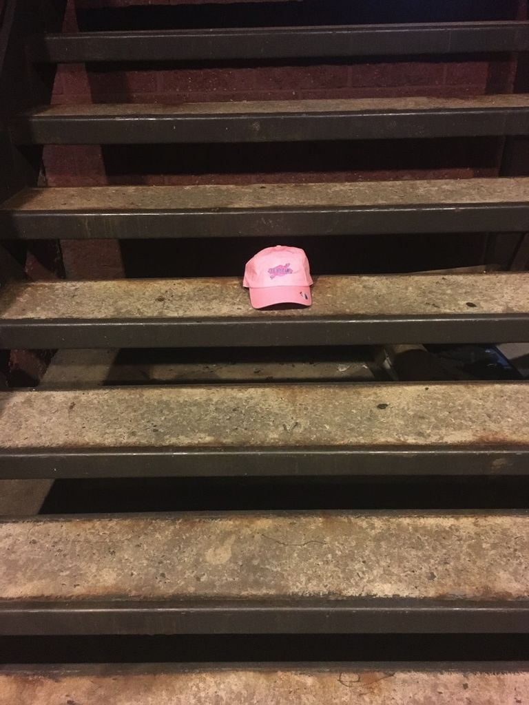 Pink And Baby Blue Level Up Sunoco K and N Pro Series Dad Hat