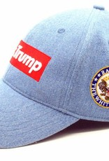 F**k Trump Cap Denim
