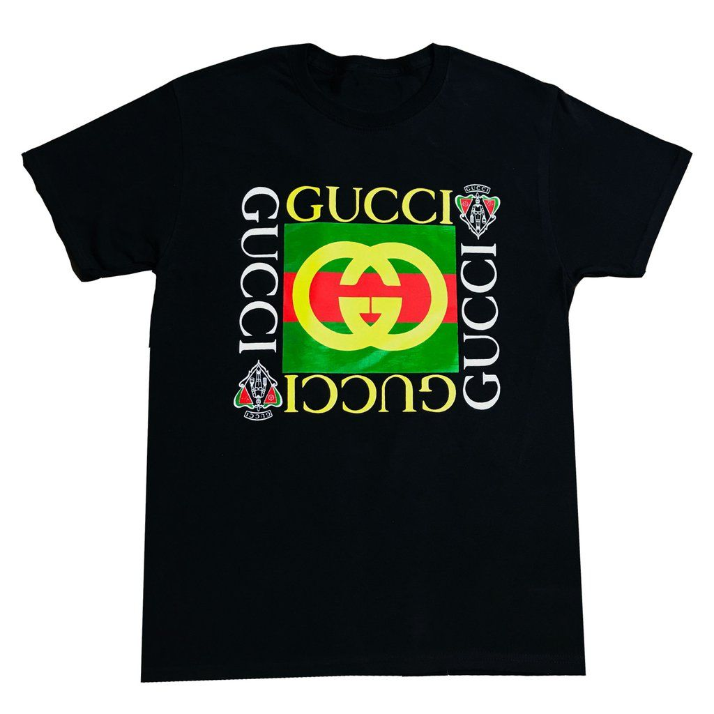 Vintage 1980s Bootleg Gucci T Shirt