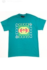 Vintage 1980s Bootleg Gucci (T) T Shirt