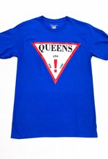 Interstate x Champion QUEENS ! Tee ( blue )