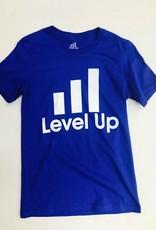 Levels Tee Blue
