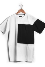 Nylon Block T Shirt White