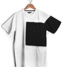 Nylon Block T Shirt White
