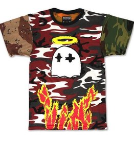Gooney Saint Heaven 2 Hell Multi - Camo T-Shirt