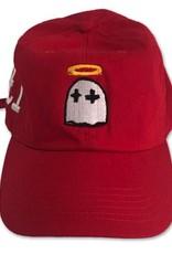 Gooney Ghost Dad Cap ( red )
