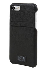 BLACK LEATHER SOLO WALLET FOR IPHONE 7
