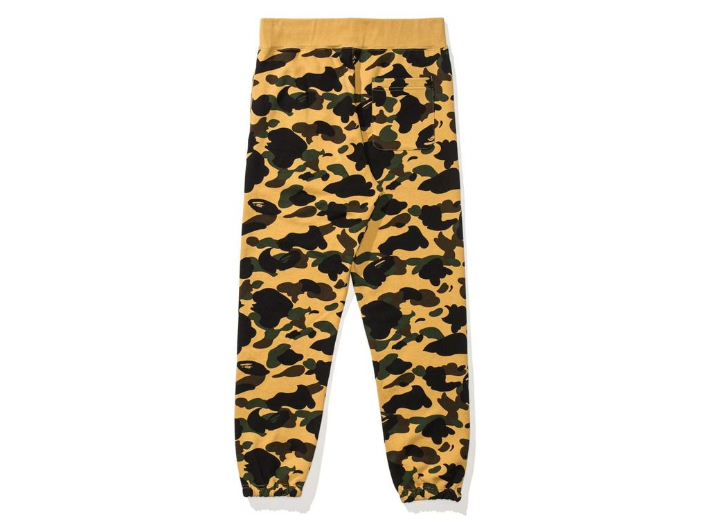 BAPE BAPE 1ST (Y) CAMO SWEAT PANTS