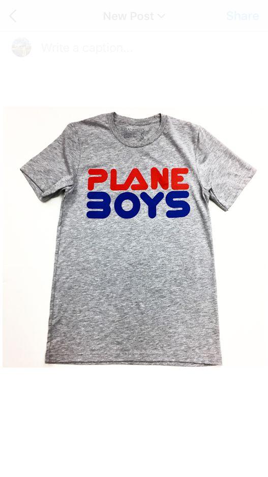 Plane Boys PBS FILA Tee