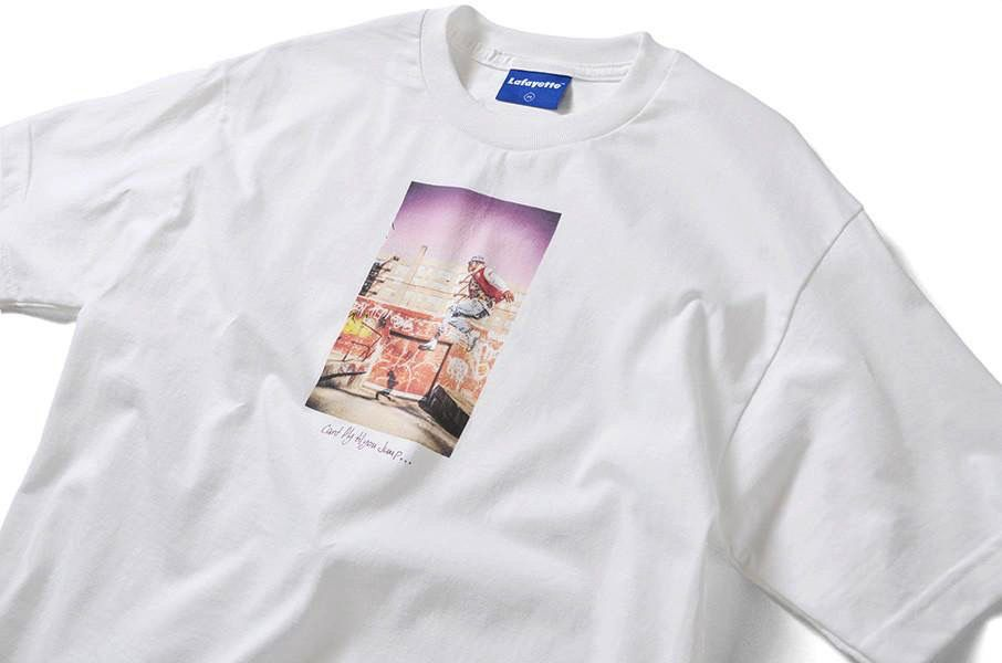 "Lafayette x Dee ""Can't Jump Till You Jump Tee"" white"