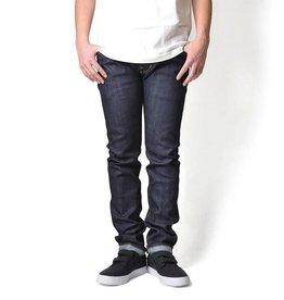 Lafayette 5 Pocket  Selvage Stretch Denim Pants - Slim Fit Color: Indigo Raw